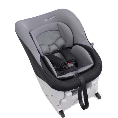 Сиденье детское автомобильное, черно-серое AIB750E