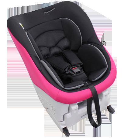 Автомобильное кресло детское, черно-розовое AIB754E