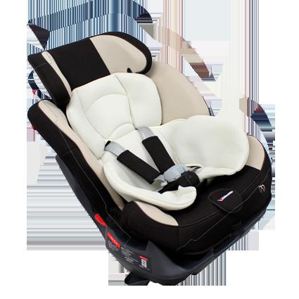 Автокресло для ребенка, коричневое AM686/ AM686E
