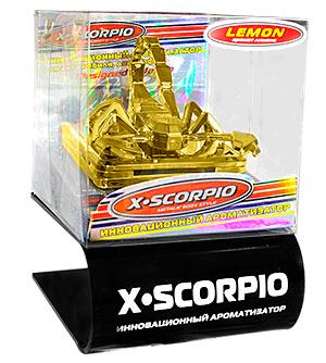 XS-S Подставка для X - SCORPIO черная пластиковая