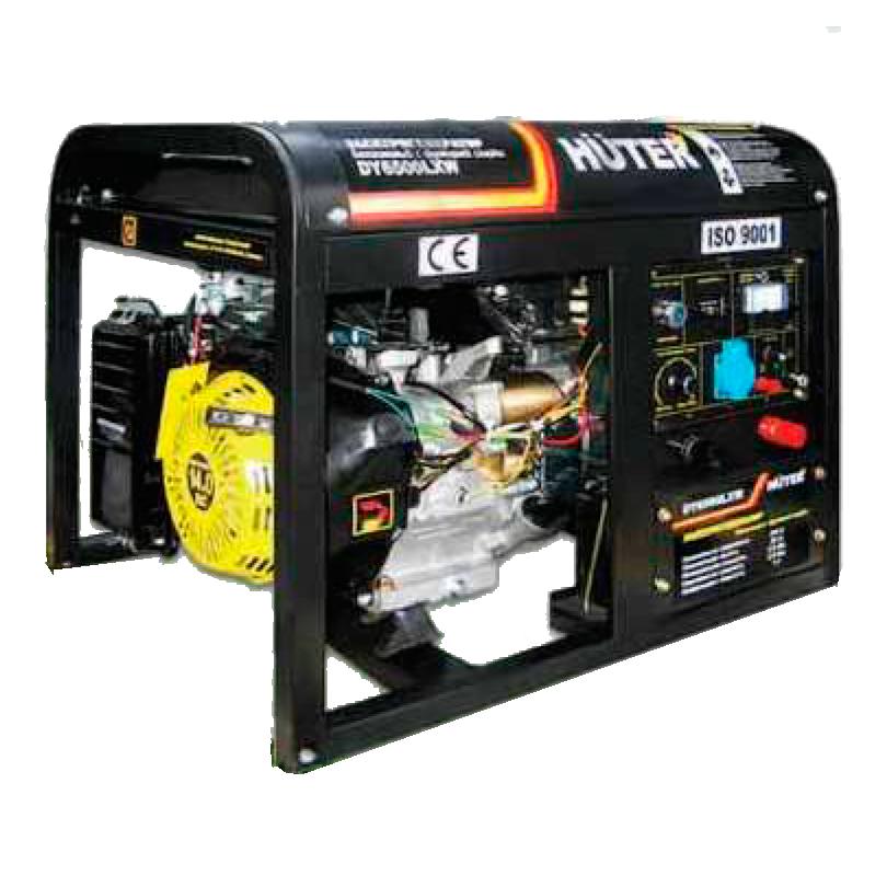 Электрогенератор DY6500LX-электростартер