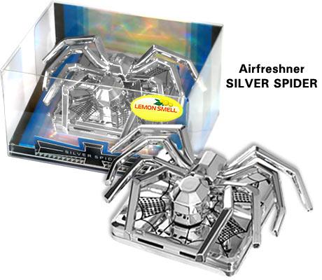 Ароматизатор Паук KA 205-02 Silver Spider  лимон