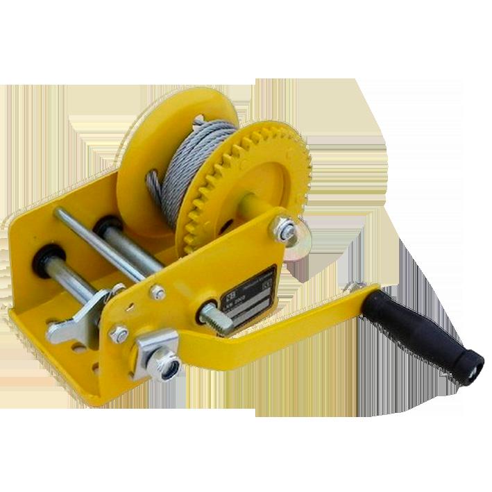 Лебедка ручная барабанная арт. XK38802 LRB 3000 (лента)  Грузоподъемность   1360 кг