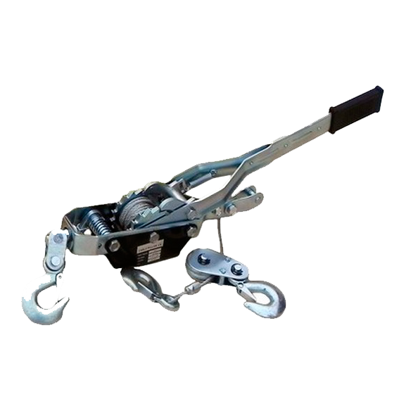 Лебедка рычажная гаражная арт.XK38820 SDB8020-2 (двойной храповый механизм), 4000кг