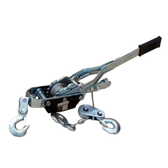 Лебедка рычажная гаражная SDB8020 (одинарный храповый механизм), 2000кг, арт SZ38818