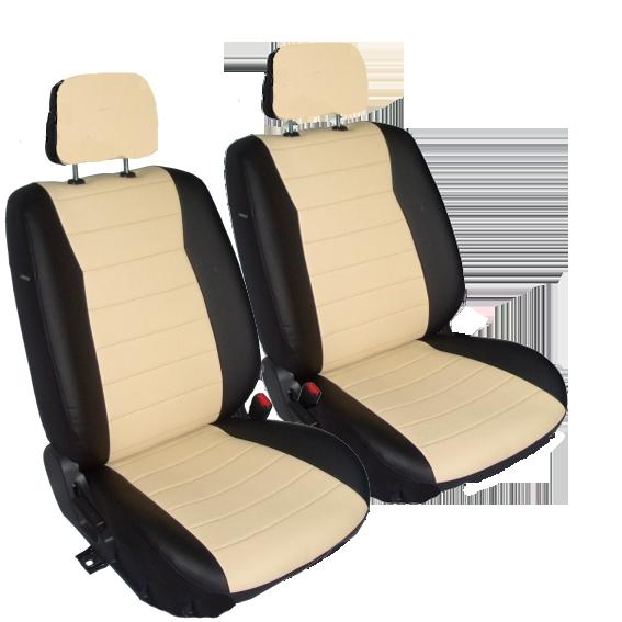 Чехлы для Honda Civic IX седан c 2012, черная и бежевая кожа аригон