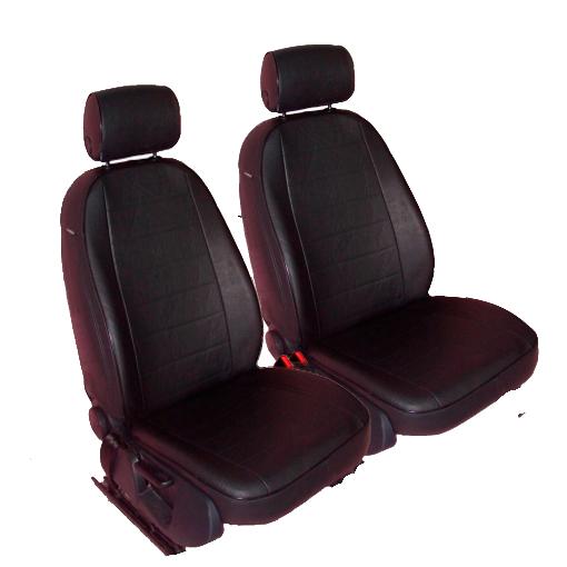 Чехлы для Honda CR-V 2 выпуск, черная кожа аригон