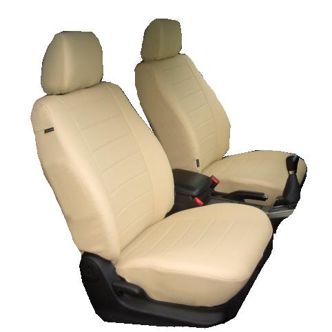 Чехлы для Hyundai Solaris хетчбэк c 2011, белая кожа аригон