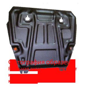 Защита картера для ZAZ Chance ,МКПП, V- 1,3; 1,5, год 2009-, сталь  2 мм, арт. 1.1012.1