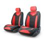Автомобильные чехлы Трансформеры MATRIX, экокожа, AIRBAG,  передний ряд, чёрн./красный.  TRS/MTX-001G BK/RD