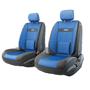Автомобильные чехлы Трансформеры COMFORT, велюр,  AIRBAG,  передний ряд, чёрн./синий.  TRS/COM-001 BK/BL