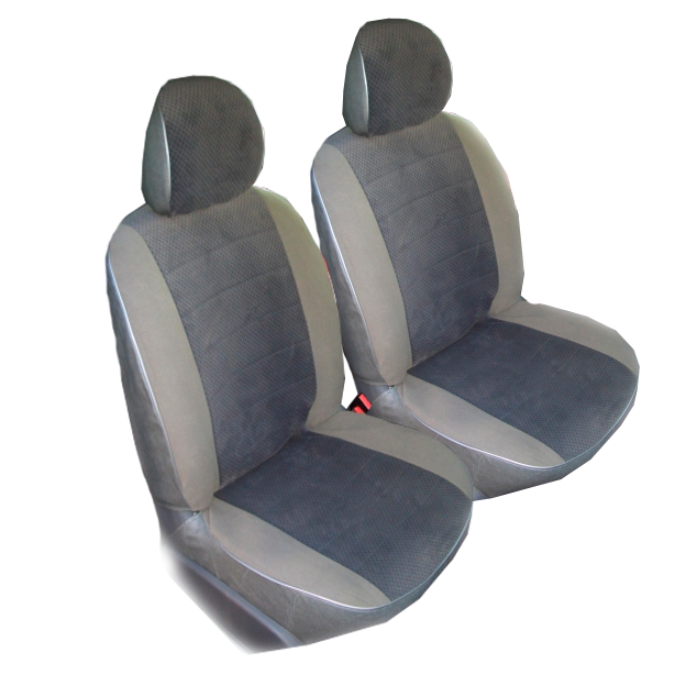 Чехлы для Volkswagen T-4 8 мест, серый велюр
