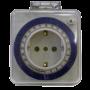 Механический таймер - розетка с таймером 16А, 3,5кВт, 220В