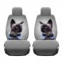Комплект накидок КОШКА на два передних сидения автомобиля